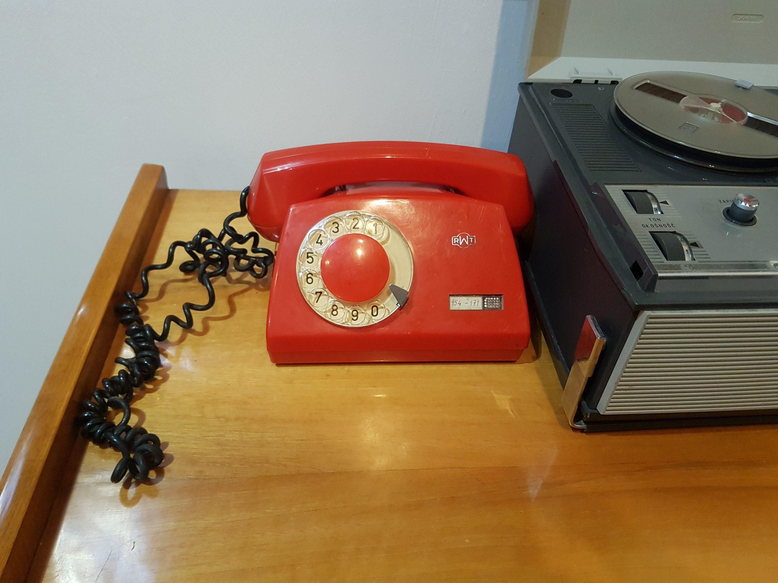 telefon z tarczą